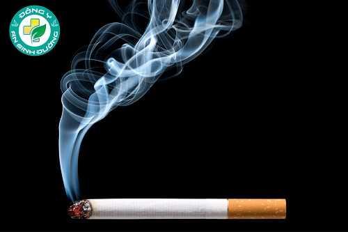 viêm loét dạ dày do hút thuốc lá