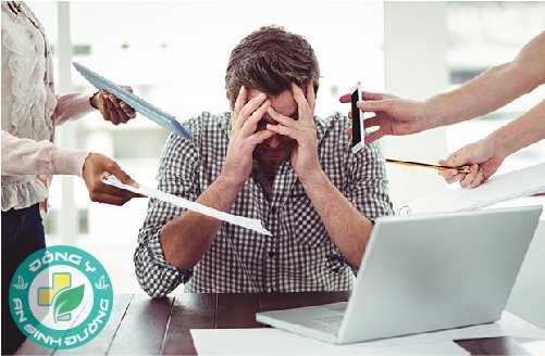 Viêm loét dạ dày do bị stress kéo dài