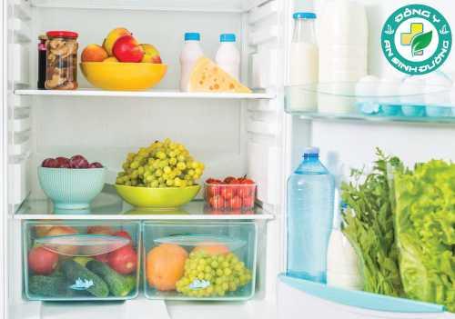 Luôn dự trũ thực phẩm lành mạnh để chủ động trong việc lên thực đơn