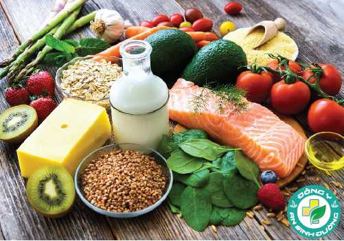 Chế độ ăn uống cân bằng sẽ đáp ứng tất cả các nhu cầu dinh dưỡng của một người