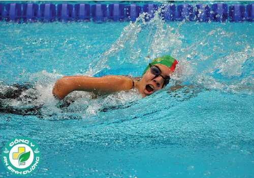 Bơi đòi hỏi sự tham gia của rất nhiều nhóm cơ