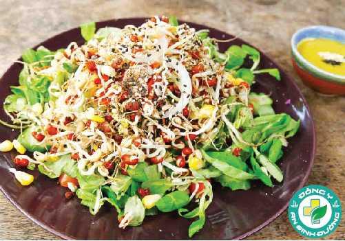 Giá đỗ chứa nhiều protein và vitamin