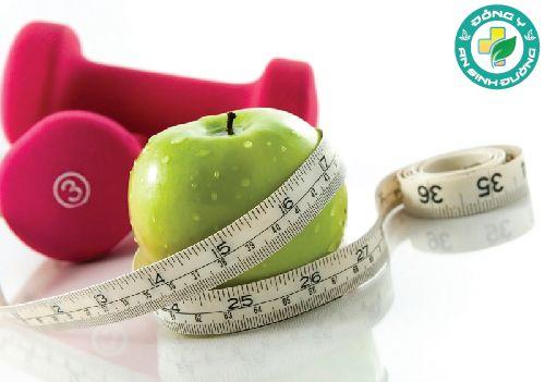 Táo không chứa chất béo nên rất lý tưởng cho những người thừa cân