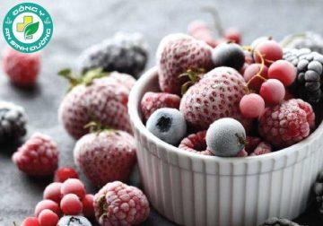 Đôi khi hoa quả đông lạnh cong nhiều dinh dưỡng hơn đồ tươi