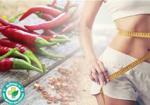 Ăn ớt nóng làm tiêu tốn năng lượng và đốt cháy calo