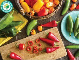 12 lợi ích cho sức khỏe tuyệt vời của ớt