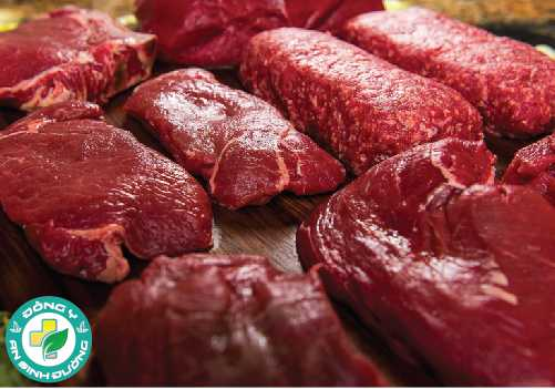 Các loại thịt đỏ như thịt bò cung cấp rất nhiều protein