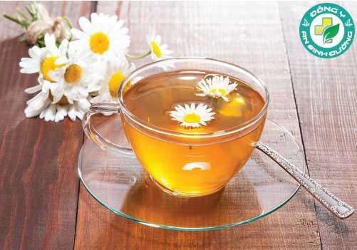 Trà hoa cúc làm giảm tiết axit dạ dày