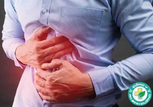 Đau bụng là một triệu chứng nhiễm khuẩn H. pylori