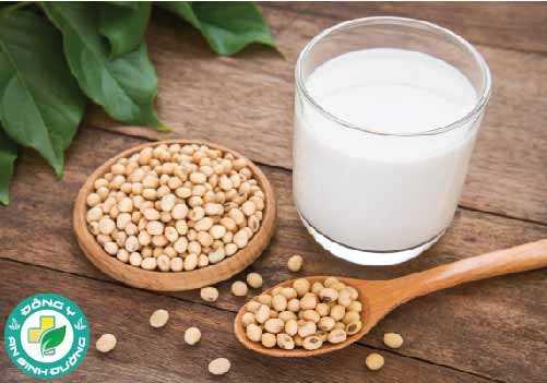 Sữa đậu nành là hỗn hợp của nước và đậu nành tạo thành một thức uống giống như sữa