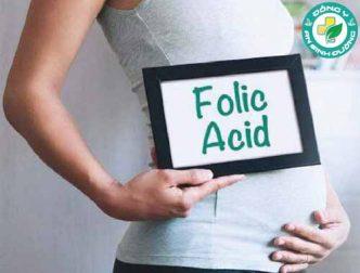 Axit folic và thai kỳ: Bao nhiêu là đủ?